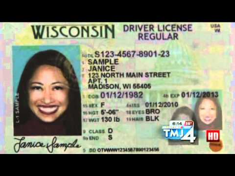 Wisconsin Changing Look of Driver License To Prevent Fraud