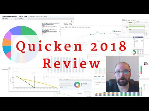 Quicken 2018-2019 Review - Deluxe, Premier, Home, Business & Rental Property