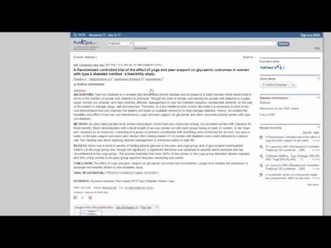 Searching for MeSH Terms in PubMed