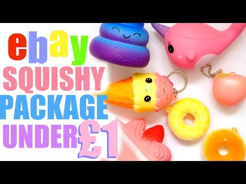 UNDER £1 SQUISHY PACKAGE FROM EBAY   100% HONEST FAIL