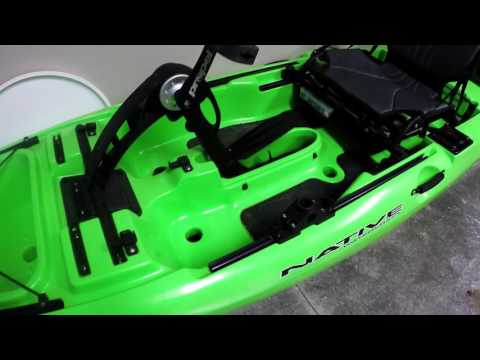 humminbird helix 5 unboxing and power up helix 5 kayak mount