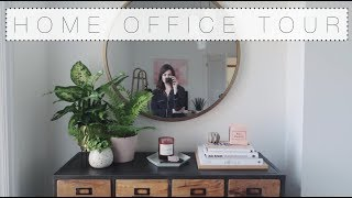 My Home Office Tour | The Anna Edit