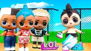 Download Скейти променяла Панки на Луао, а он ушел к друзьям! Мультик куклы лол сюрприз Video