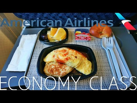 American Airlines ECONOMY CLASS Lima to Miami|Boeing 757-200