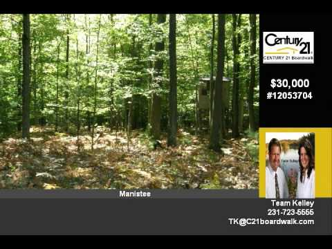 Almost 12 Acres - Countyline Rd., Manistee, MI - Land Contract Terms Offered