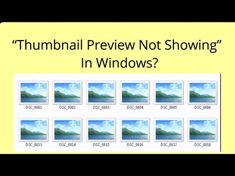 Fix - Not Able To See Thumbnails of Images In Windows | PCGUIDE4U