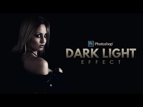 How to Create Dark Light Portraits in Photoshop - Photo Effect Tutorial