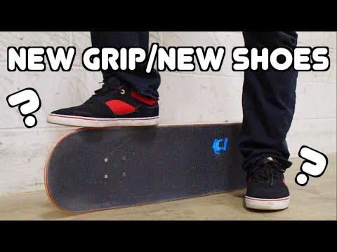 New Grip/New Shoes In Skateboarding - Does It Matter?