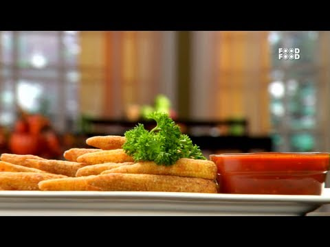 Fried Babycorn - Tea Time