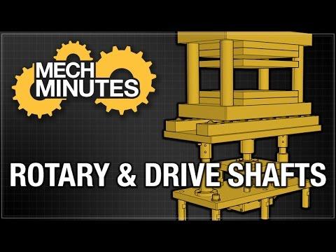 SHAFTS PT. 5: ROTARY & DRIVE SHAFTS | MECH MINUTES | MISUMI USA