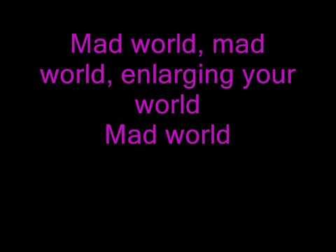 Mad World -Gary Jules (lyrics)