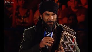 WWE 2017 issues Statement on Jinder Mahal Promo HUGE WWE NEWS Story!