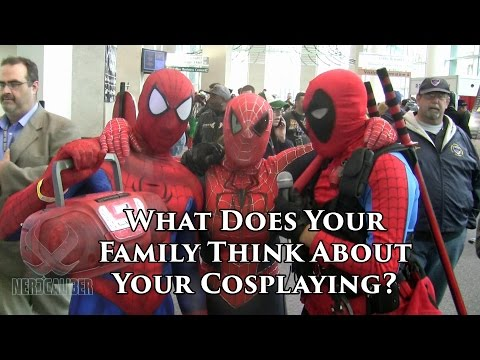 What Does Your Family Think About Your Cosplaying? RICC 2014