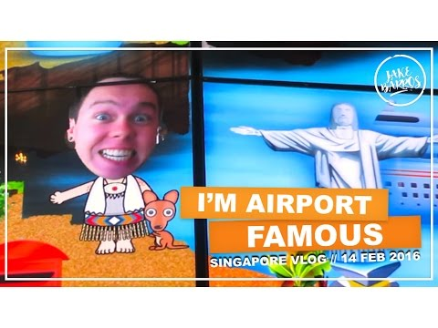 I'M AIRPORT FAMOUS (14 Feb 2016 Vlog)
