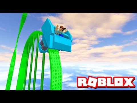 ROBLOX'S TALLEST ROLLER COASTER