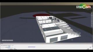 Navisworks Construction Sequencing Video