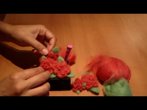 How to Needle Felt a Flower