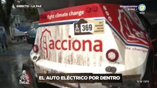 Rally Dakar 2017 - Etapa 6 - Ariel Jatón y su auto eléctrico