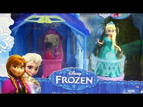 Flip 'N Switch Castle and Elsa Doll / Замок Эльзы с куклой - MagiClip - Disney Frozen - CCX95