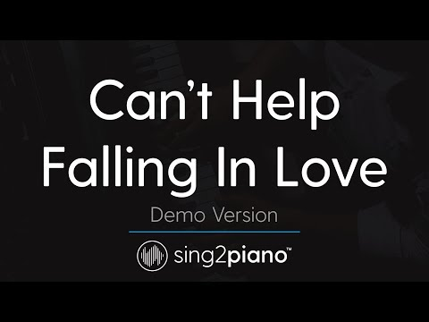 Can't Help Falling In Love (Piano Karaoke Demo) Haley Reinhart