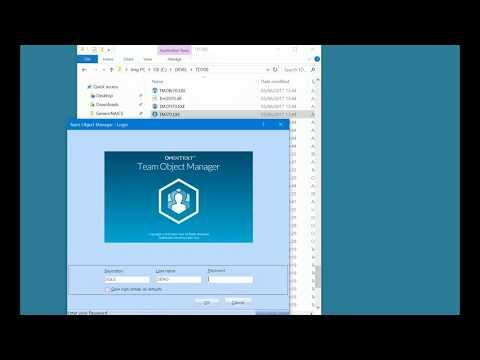 Team Object Manager 7.0.2 SQL Server 2012 Repository Setup