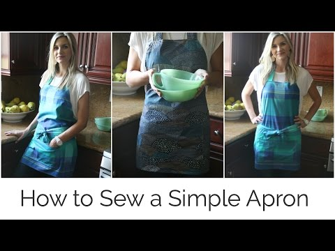 How to Sew a Simple Apron