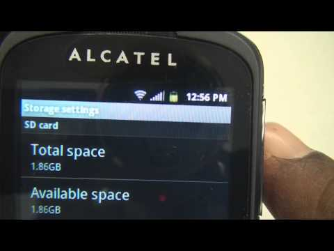 Alcatel Revolve One Touch A554C Review