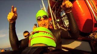 Alcatraz Swim - San Francisco (GoPro Footage) [HD]