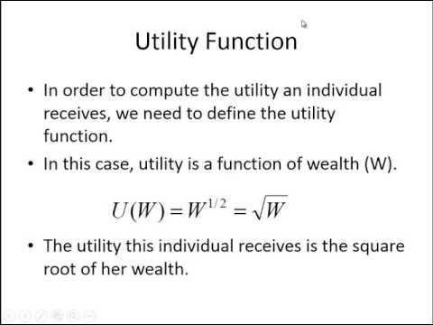 Computing Utility