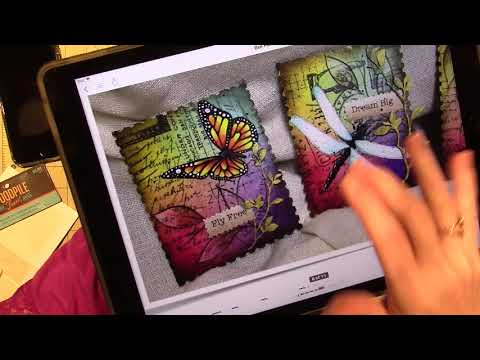 Tracy Moreau E-pattern painting Share