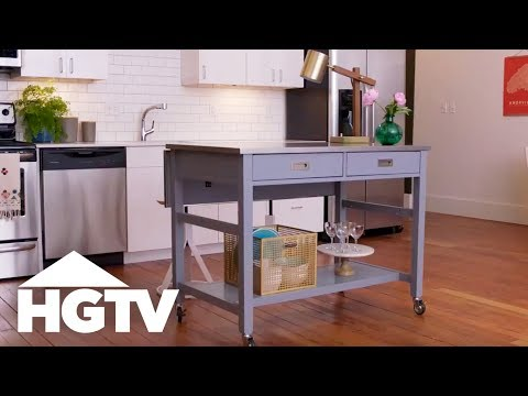 4 Ways to Use a Kitchen Island - HGTV