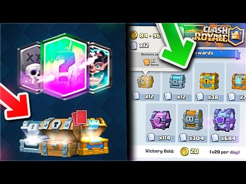 PREDICT WHEN YOU WILL GET a LEGENDARY CARD in FREE CHEST,SILVER,GOLD & CROWN Method! Clash Royale