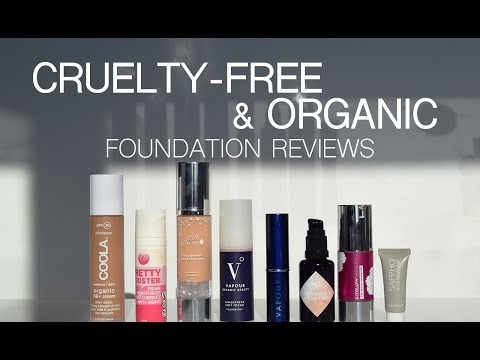 9 Best Cruelty-Free, Vegan & Organic Foundation Reviews and Testing!