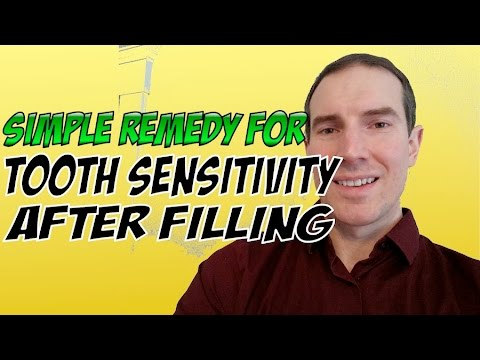 Remedy For Tooth Sensitivity After Filling