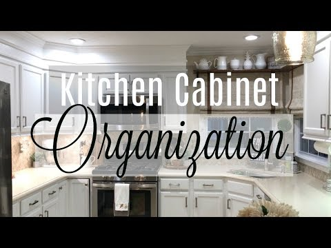 Kitchen Cabinet Organization | How I Organized My Kitchen Cabinets and Drawers