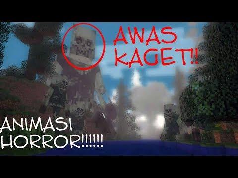 Horror animation minecraft