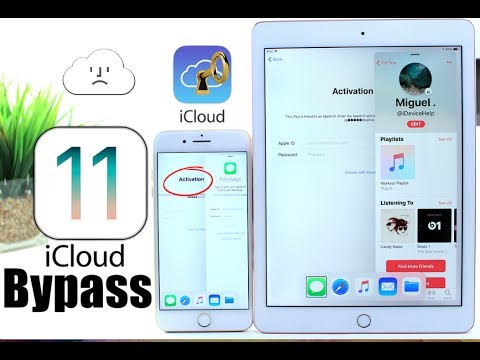 How to Bypass iCloud Activation Lock iOS 11 FREE iPhone, iPad