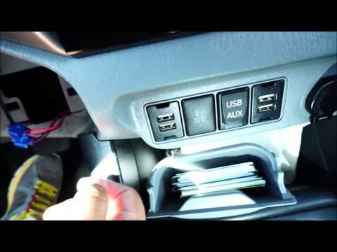 2012-2015 Toyota Tacoma Dual USB Charging Ports