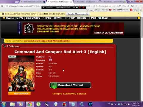 HOW TO GET RED ALERT 3 FULL AND EASY FREE FOR PC TUTORIALS