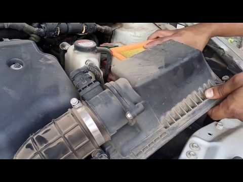 how to clean swift dzire engine air filter