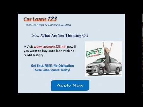 How to Get a Car Loan With No Credit History?