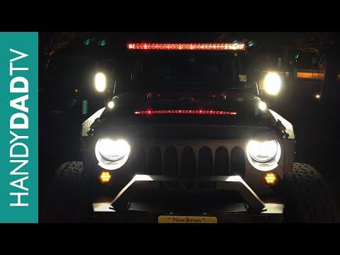 Jeep Wrangler Halo Headlights by Sunpie