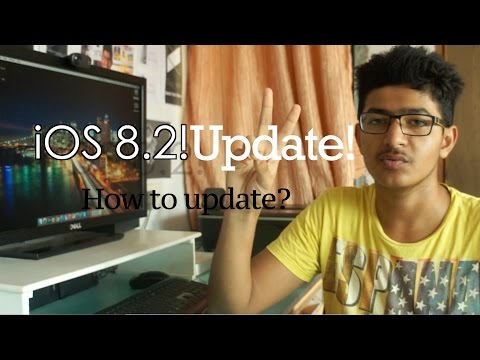iOS 8.2 : How to Update? 4K, WITHOUT UDID REGISTRATION, FREE!