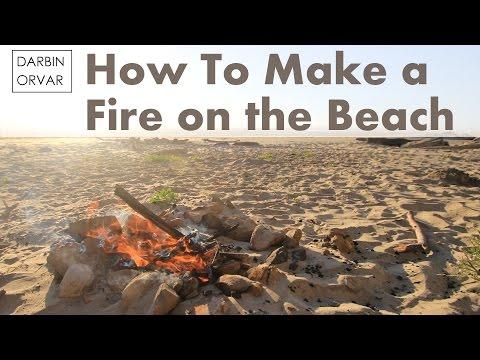 Fire on the Beach!
