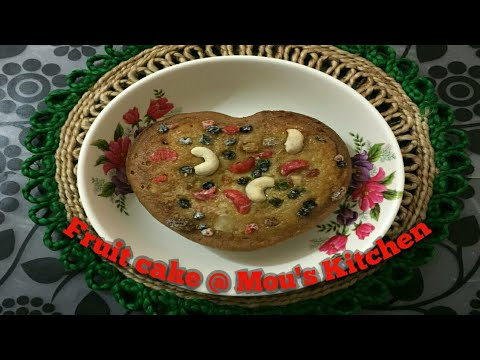 How to make Fruit Cake in Pressure Cooker