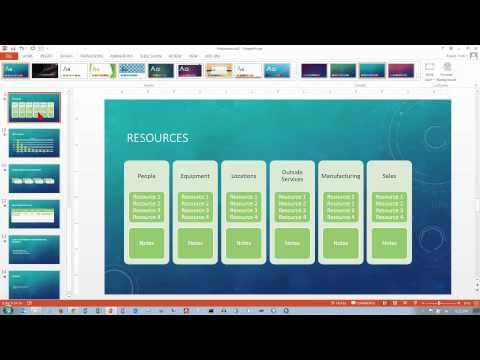 PowerPoint 2013/2016: Themes