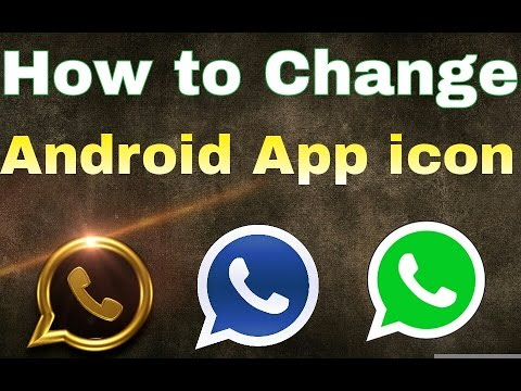 how to change application icon on android mobile phone device