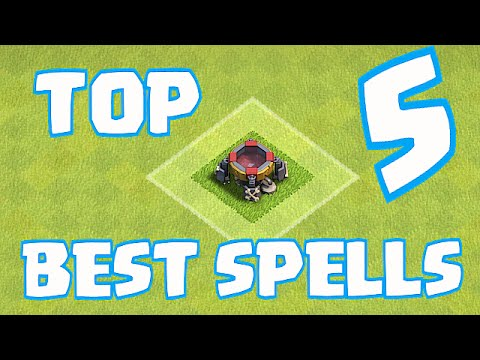 Clash Of Clans - THE BEST SPELLS IN THE GAME!! Sept. 2015 (8 Bit Countdown)