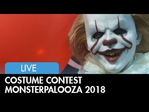 Costume Contest at Monsterpalooza 2018