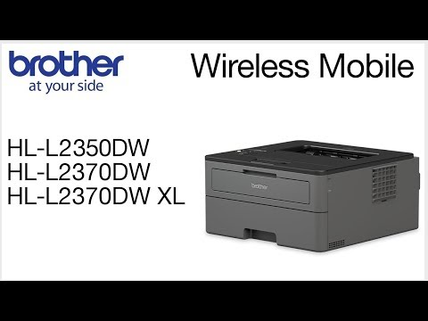 HLL2370DW – Connect to a mobile device